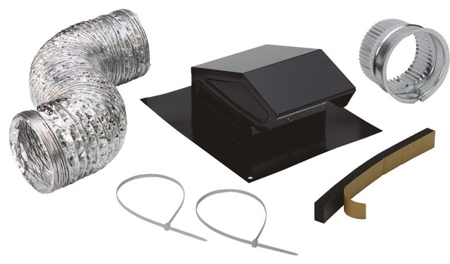 Broan Rvk1A Roof Vent Kit, 8' Of 4