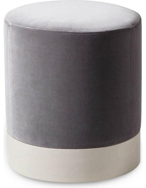 Groovy Resource Decor Morrison Round Ottoman Velvet Caraccident5 Cool Chair Designs And Ideas Caraccident5Info