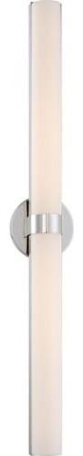 """Bond Double 37-3/8"""" LED Vanity with White Acrylic Lens"""