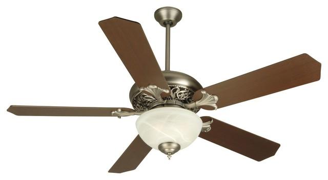 Craftmade K10326 Mia 52 5-Blade Indoor Ceiling Fan, Pewter.