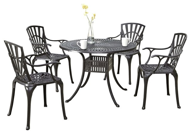 Largo 5-Piece Dining Set With Armchairs, 42.