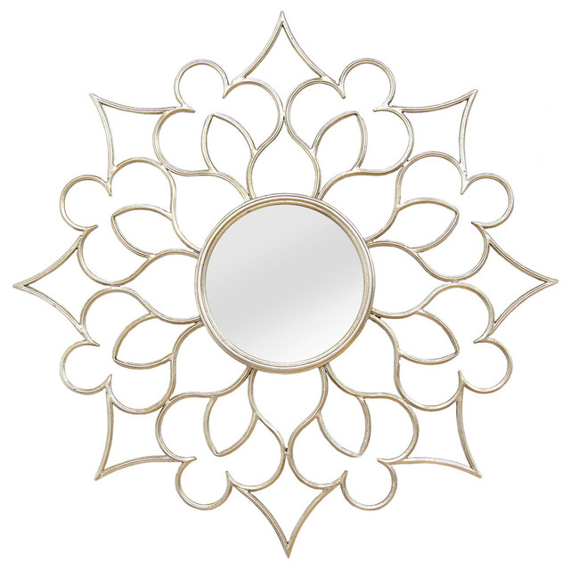 Stratton Home Decor Francesca Wall Mirror. -2