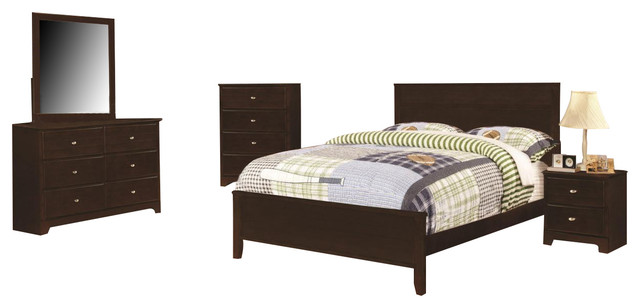 Coaster Ashton Bedroom Set With Full Bed by Coaster Home Furnishings