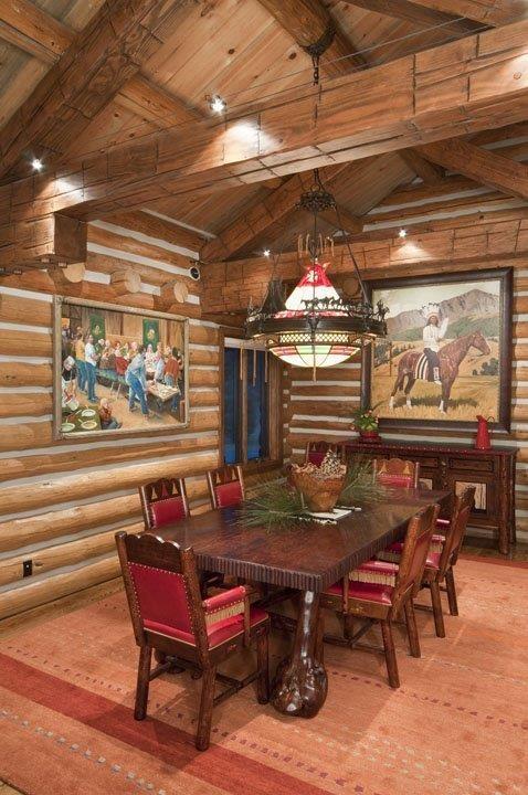 Log Home Remodel, Lapine