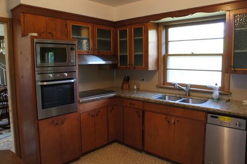 Old 1950u0027s Kitchen Vs, New Open Concept Kitchen