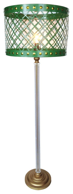 Cal Lighting La-8005fl-1 Hotel 1 Light Floor Lamps