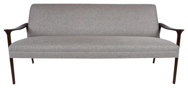 Consigned Vintage Danish Mid-Century Modern-Style Sofa