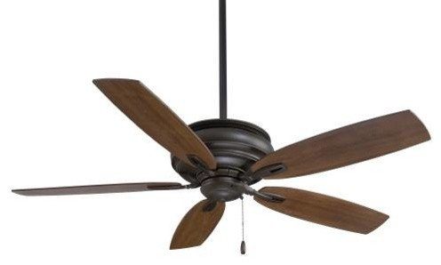 "54"" Timeless Ceiling Fan, Oil Rubbed Bronze."