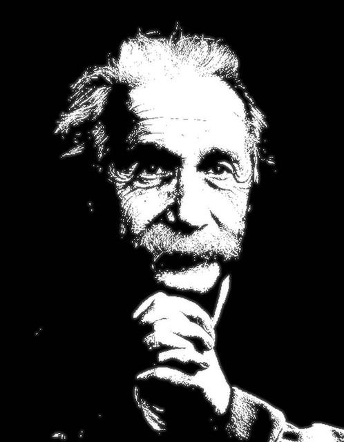 Albert Einstein\