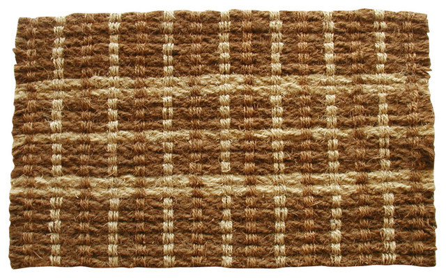 Twisted Coir Rope Mat Doormat Traditional Doormats