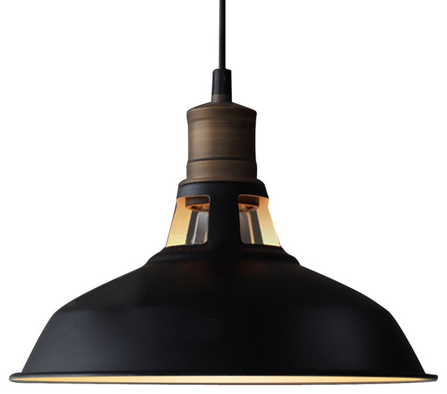 Attractive Black Industrial Light Part - 5: Edison Pendant Light Industrial-pendant-lighting