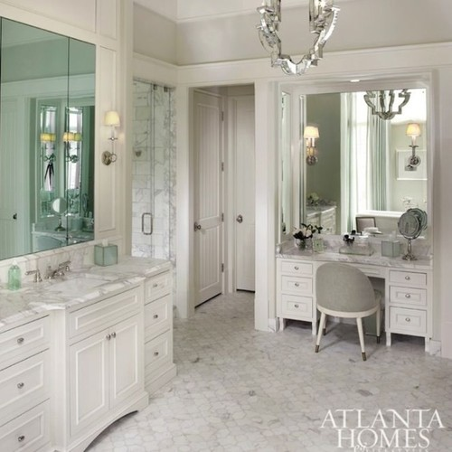 Should I place a make-up vanity in my walk-in-closet or master bath?