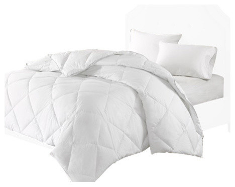 1000t Cvc Thread Count Cotton Blend Down Comforter Traditional