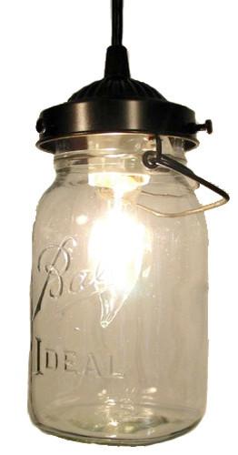 mason jar pendant light oilrubbed bronze