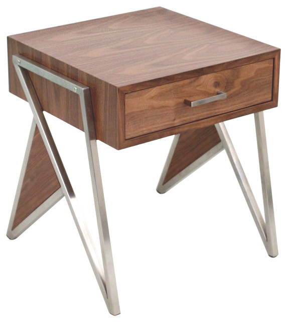 Tetra End Table Midcentury Side Tables And End Tables