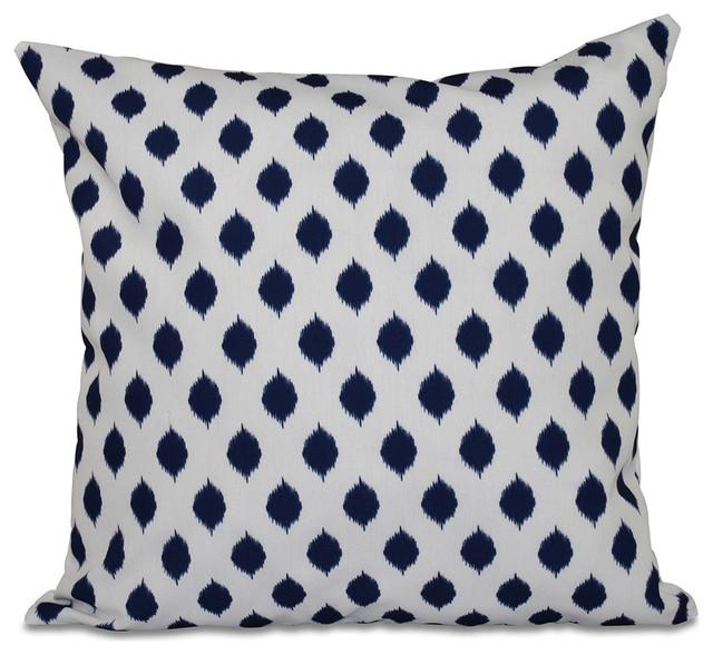 E by Design - Cop-Ikat Geometric Print Pillow & Reviews Houzz