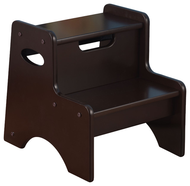 Two Step Stool Contemporary Kids Step Stools And