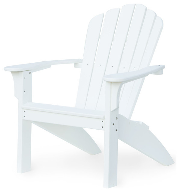 Amber Layne Adirondack Chair, White