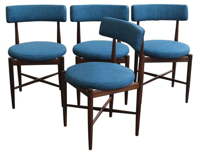 Vintage G Plan Teak Dining Chairs Set Of 4 Midcentury
