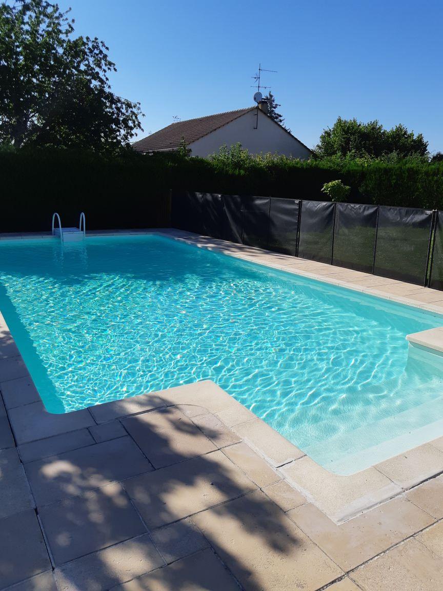 Avant/Après piscine panneaux enterrée (Couternon)