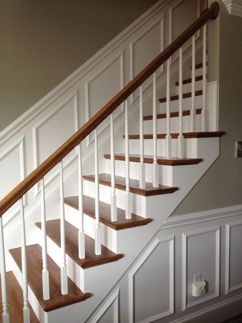 Staircase Trim Traditional Boston By Brosseau