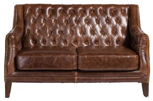 leather and tweed sofa get the traditional british look with darlings of chelsea world thesofa. Black Bedroom Furniture Sets. Home Design Ideas