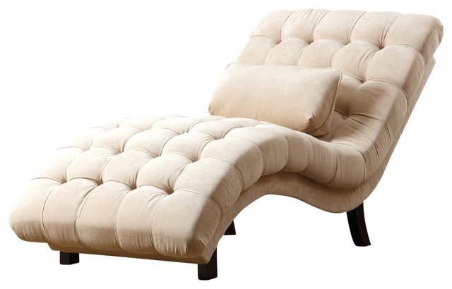 Pentridge Chaise, Cream.