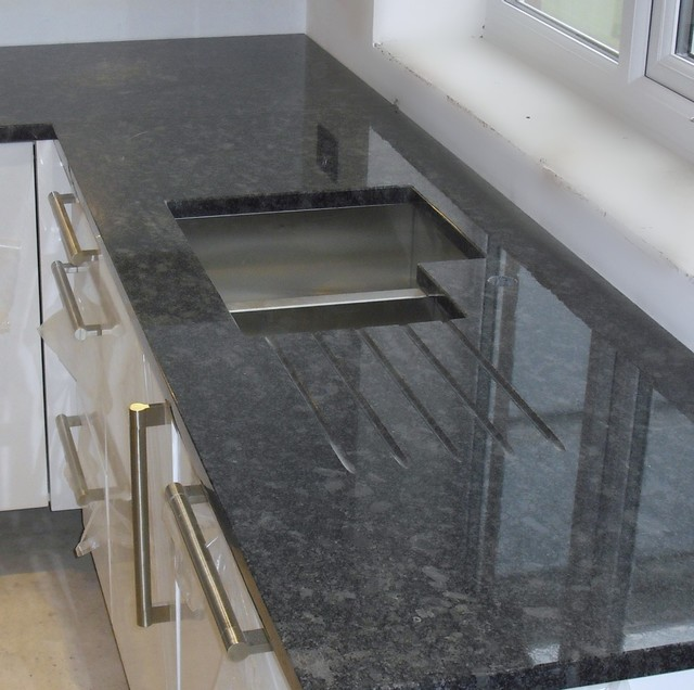 steel grey granite worktops contemporary manchester by cheshire granite worktops. Black Bedroom Furniture Sets. Home Design Ideas