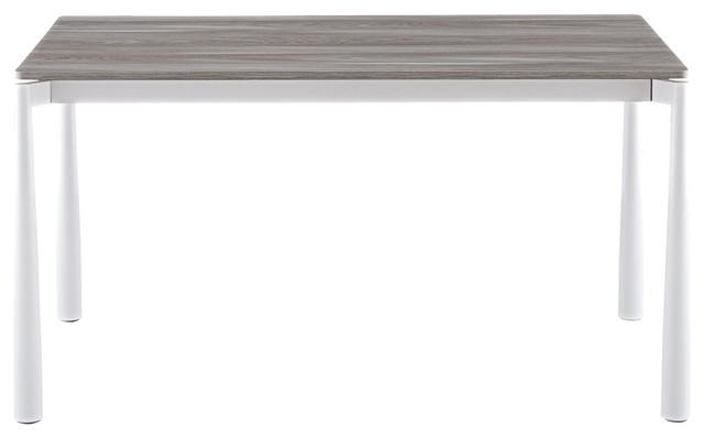 Mitt Extendable Melamine Dining Table Modern Tables By Albaplus