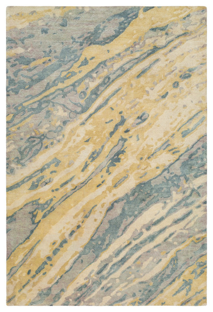 Pisces Modern Sage Teal Area Rug Contemporary Area