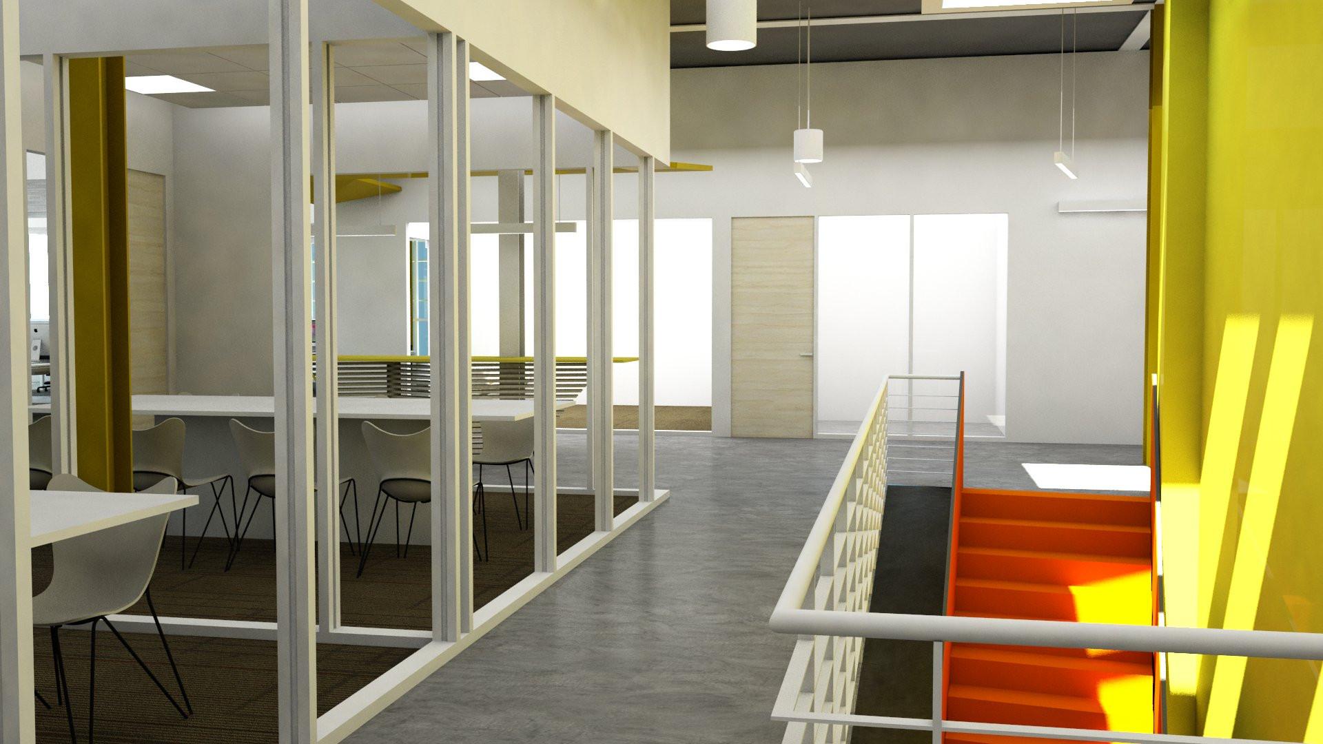 Gut Renovation of an Office Interior