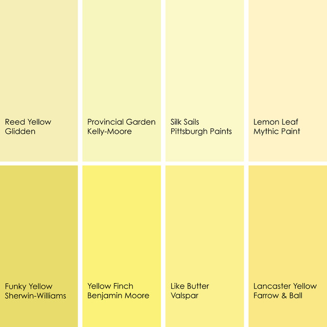endearing 25 different shades of yellow paint design ForDifferent Yellow Paint Colors