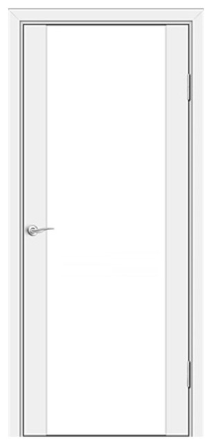 Milano-300 White Laminate Interior Door 24x80 Door Slab Only contemporary-interior  sc 1 st  Houzz & Milano-300 White Laminate Interior Door - Contemporary - Interior ... pezcame.com