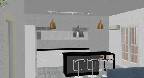 Predisposizione luci in cucina