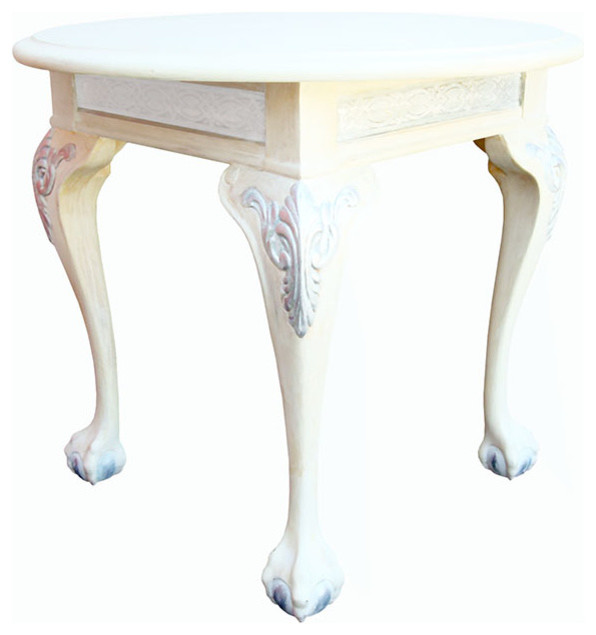 Claw And Ball Foot Side Table