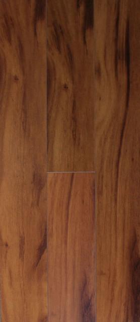 Sample Of Premium Click Lock Smooth Laminate Flooring Chelsea Teak
