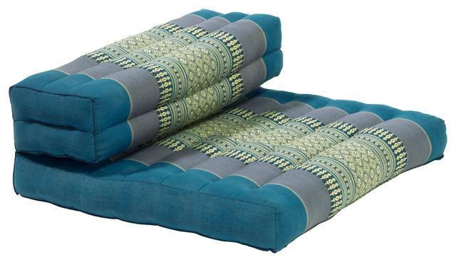 Dhyana Meditation Cushion Aqua
