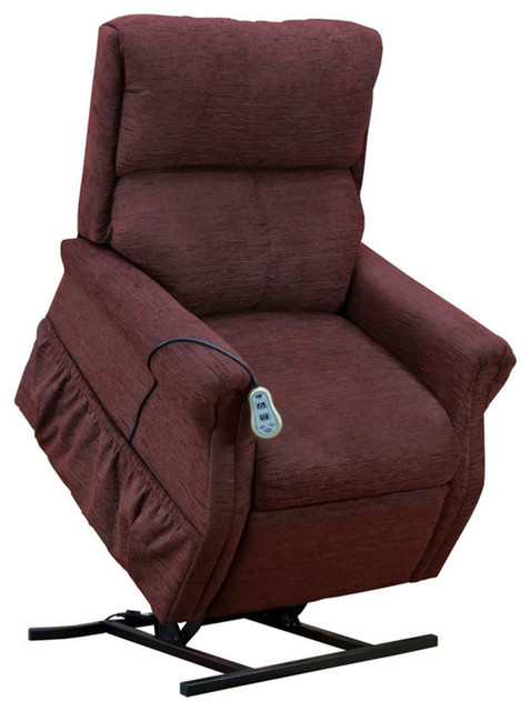 Med Lift Two Way Reclining Lift Chair Encounter Wine
