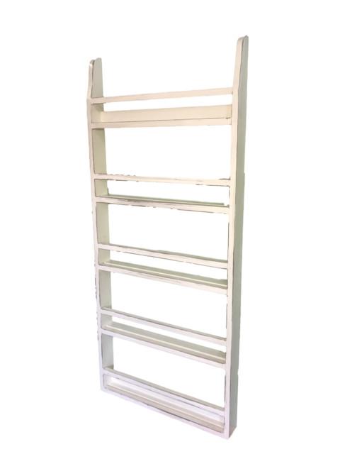 Farmhouse Country Plate Rack Wall Shelf