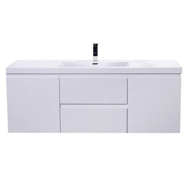 moreno mob 60 double sink wall mounted bathroom vanity high gloss white modern