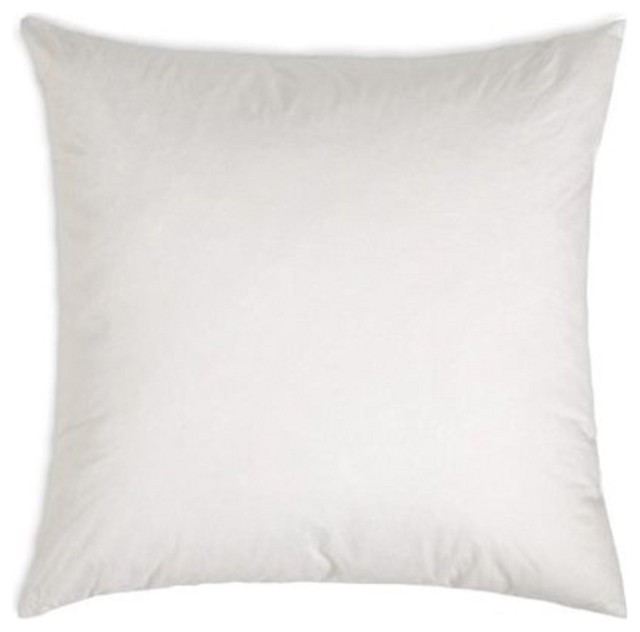 Decorative Pillow Forms : Square Polyester Cotton Pillow Form Insert - Contemporary - Decorative Pillows - by The Fabric Co