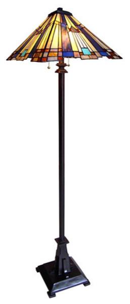Arts & Crafts Mission 2 Floor Lamp - Craftsman - Floor Lamps - by ...