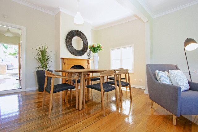 Bonnington st contemporary dining room hobart by for Best private dining rooms hobart