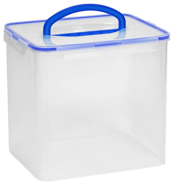 Snapware 40 Cup Clear Airtight Food Storage Container With Handle