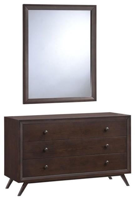 Modway Tracy Dresser, Mirror Mod-5310-Cap-Set.
