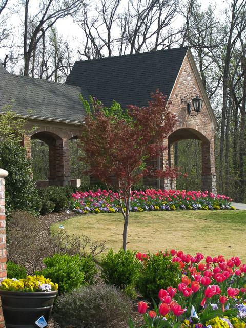 Example of a classic exterior home design in Other