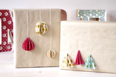 Give Presents a Special Twist With Folded Paper Decorations