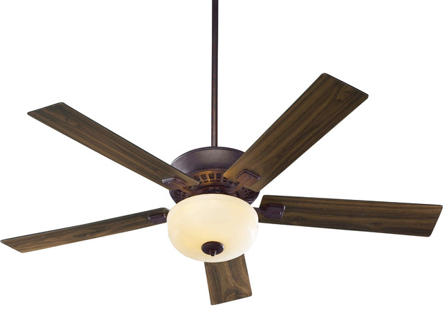 Rothman 52 Ceiling Fan, Toasted Sienna, Amber Scavo, Toasted/walnut.