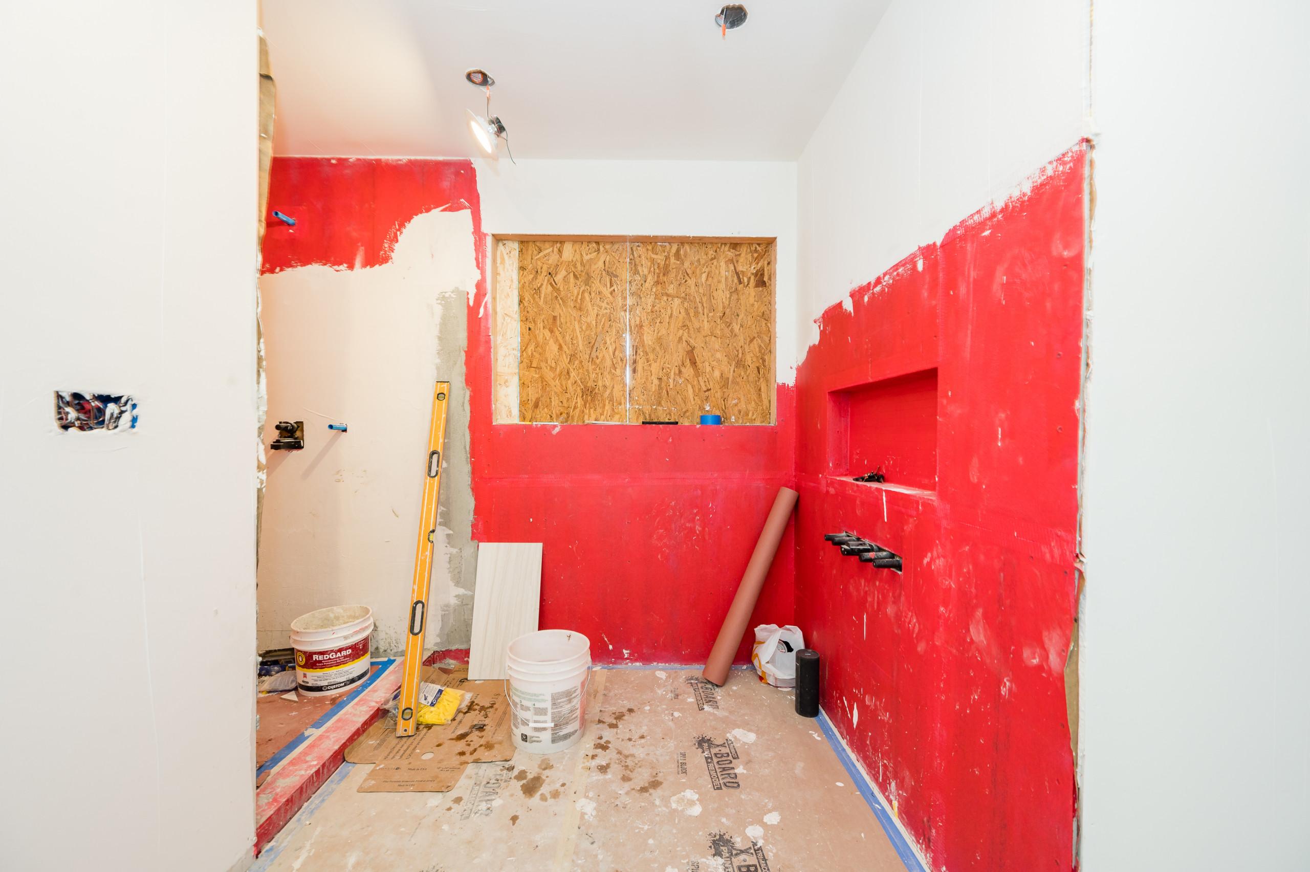 DURING CONSTRUCTION Custom Home - San Mateo