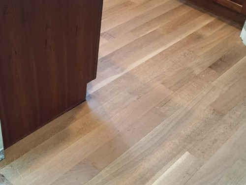 White Oak Floor Stain Choice